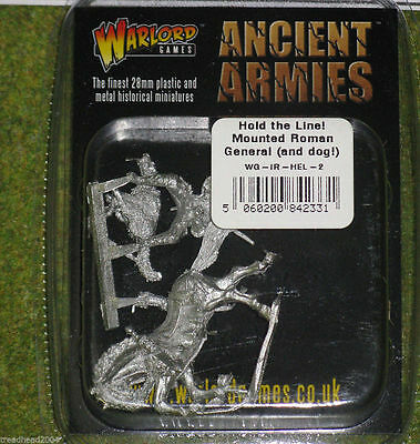 Warlord Games HOLD THE LINE! ROMAN COMMANDER & DOG 28mm