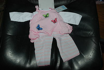 Pink Flutter Doll Outit by Lee Middleton for 19 to 20'' Dolls New in Package