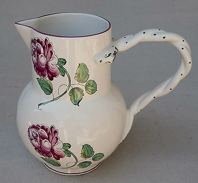 Vintage Tiffany Strasbourg Flowers, Tiffany & Co. Portugal Pitcher, Excellent!!