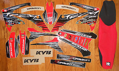 HONDA of TROY TEAM GRAPHICS CRF250 2010 2011 2013 CRF450 2009 - 2012 with S/C