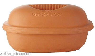 Mason Cash Clay Cooker Terracotta One Pot Cooker Clay Roasting Dish Xmas Turkey