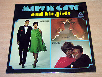 Marvin Gaye/And His Girls/1968 Tamla Motown Mono LP/Tammi Terrell/Mary Wells