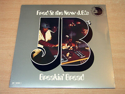 MINT & Sealed !! Fred & The New JBs/Breakin' Bread/People LP/James Brown/New