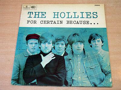 The Hollies/For Certain Because/1966 Parlophone Gatefold Mono LP