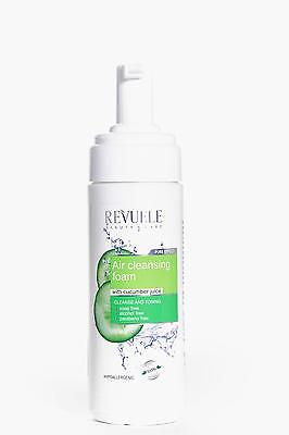 Boohoo Womens Cucumber Air Cleansing Foam in Clear size One Size