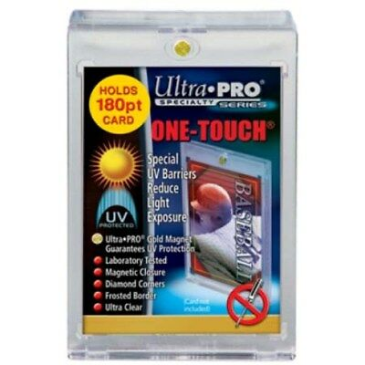 100 ULTRA PRO 180PT UV One Touch Magnetic Holder for THICK CARDS or Jersey card