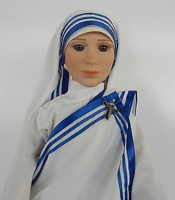 Nonne Puppe Mutter Teresa Mother Teresa Missionaries of Charity Blessed Nun Doll