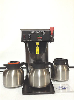 Newco Ace-Tc Single Thermal Coffee Brewer W/ Hot Water Faucet, Flow Valve & Pots