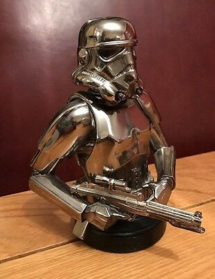 Star Wars GENTLE GIANT Chrome Edition Storm trooper Limited Edition 2004 RARE