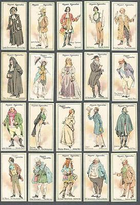 1913 Player's Cigarettes Characters from Thackeray Tobacco Cards Complete Set