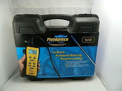 Fieldpiece Srh3 In Duct Problem Solving Psychrometer - Please See Pictures - 10T