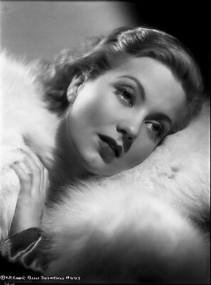 Ann Sothern beautiful original studio 8x10 b/w negative glamour portrait photo