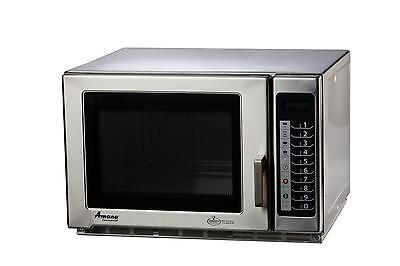 Amana RFS18TS 1800W Stainless Microwave Oven 1.2 Cu.ft Medium Volume