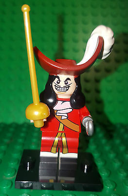 Lego 71012 Disney Series 1 Minifigure CAPTAIN HOOK -NEW-