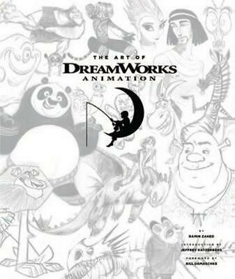 The Art of Dreamworks Animation by Ramin Zahed Hardcover Book (English)