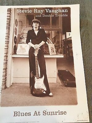 Stevie Ray Vaughan and Double Trouble old POSTER NEW condition 18X24 inches