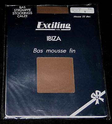 """Bas Pj T 5 Nylon Ext. Mousse Fin France """"exciting Ibiza"""" Festival Sexy Glamour"""