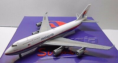 1/500 StarJets malaysia airlines B747-400 9M-MPD