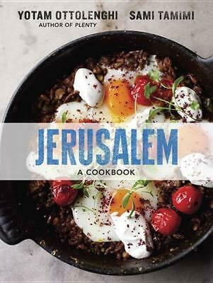 Jerusalem: A Cookbook by Yotam Ottolenghi (English) Hardcover Book Free Shipping