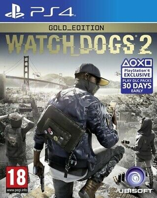WATCH_DOGS 2: Gold Edition (PS4) PEGI 18+ Adventure: Free Roaming Amazing Value