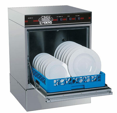 "CMA Dishmachines Low Temp Undercounter Dishwasher w/ 16"" Opening 30 Racks/hr"