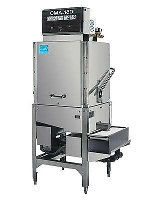 CMA Dishmachines Upright Door Type High Temp Commercial Dishwasher 60 Rack/Hr