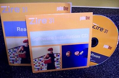 Palm Zire 31 Genuine Desktop Software For Windows & Mac + Read This First Book