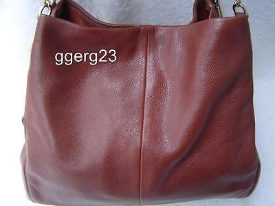 Authentic Coach Madison Brown Leather Small Phoebe #26224 Euc
