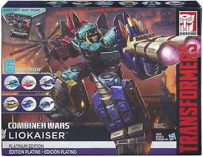 Transformers Combiner Wars Platinum Edition Liokaiser Exclusive Box Set