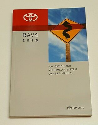 2016 Toyota Rav4 Navigation System And Multimedia Owners Manual Limited Sport