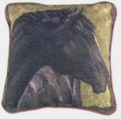 Decorative Pillow HORSE COLLAGE Pillow CLEARANCE SALE