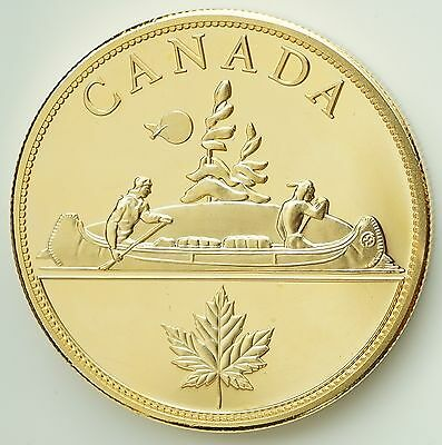 1936 Canada Edward VIII Proof Pattern Dollar Gold Plated Piedfort Only 12 Minted