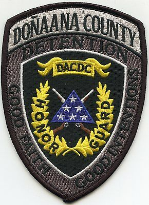 DONA ANA COUNTY NEW MEXICO NM Honor Guard DOC CORRECTIONS SHERIFF POLICE PATCH