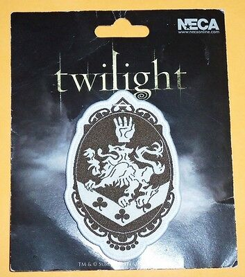 OFFICIAL~twilight~VAMPIRE~edward~CULLEN~family~CREST~hot~TOPIC~SEW~badge~PATCH