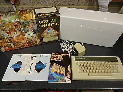 Acorn Electron computer Vintage Old - Uses BBC Basic