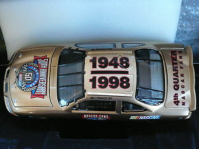 Nascar Bill France Snr Car 1:24 scale Mint in box celebrating 50 years 1948-1998