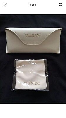 Valentino Optical case, new with Valentino cleaning cloth