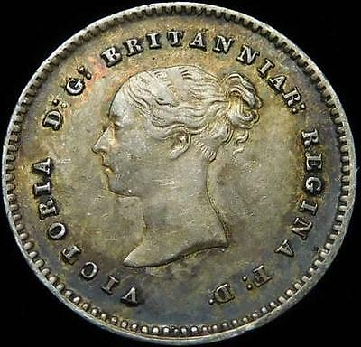 *HHC* GREAT BRITAIN. Victoria Maundy Silver Twopence, 1843 (Inv #U2644)