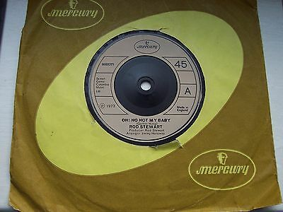 Rod Stewart, Oh No Not My Baby / Jodie (With The Faces). 1973 Mercury Single