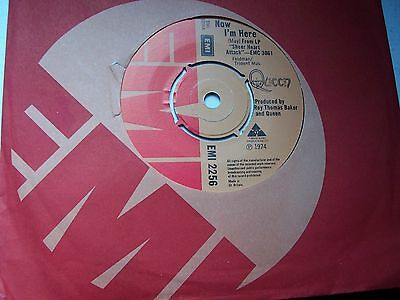 Queen, Now I'm Here / Lily Of The Valley. Original 1974 Emi Single