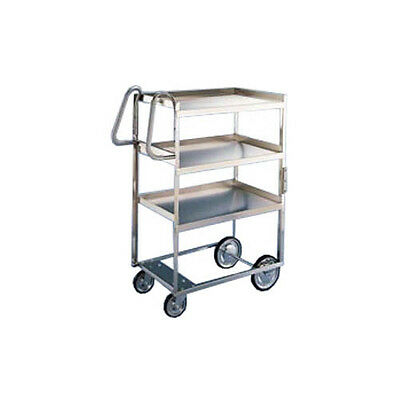 "Lakeside 7030 21-5/8""x57-3/16""x46-3/4"" Ergo-One® Stainless Utility Cart"