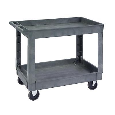 Lakeside 2523 Plastic Cart w/ 2 Shelves