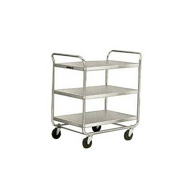 """Lakeside 493 36""""Wx23""""Dx40-1/8""""H Chrome Plated Utility Cart"""