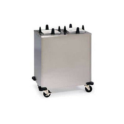 "Lakeside S6209 8-1/2"" to 9-1/4"" Heated Mobile Square Dish Dispenser"