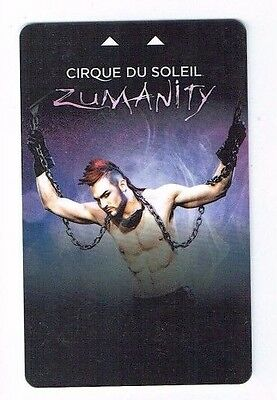 ZUMANITY Cirque Du Soleil NEW YORK NEW YORK Las Vegas Room KEY Casino ~FREE SHIP
