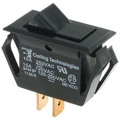 Rocker Switches SPST ON-NONE-OFF BLK (1 piece) New