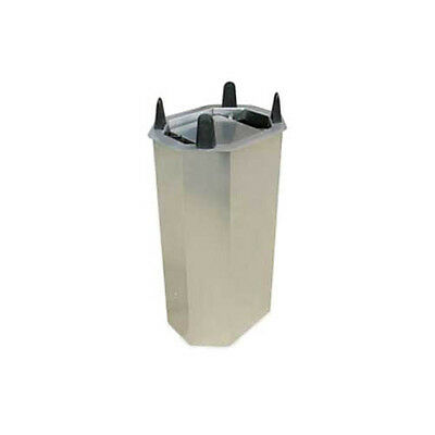 "Lakeside V5010 6-3/4"" to 10-1/2"" Shielded Frame Drop-in Oval Dish Dispenser"