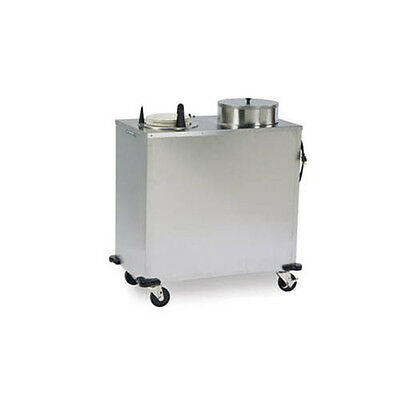 Lakeside Express Forced Air Heat Mobile Plate Dispenser Cabinet - E6211