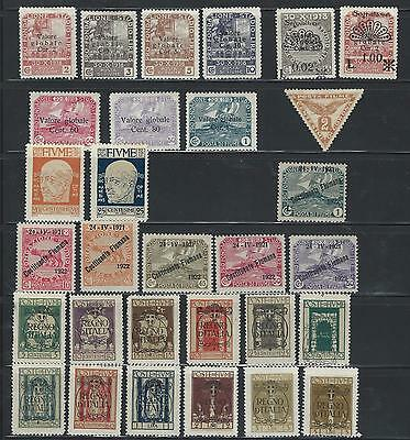 Fiume - Fine Mounted Mint Selection On 1 Page - Good £Cv
