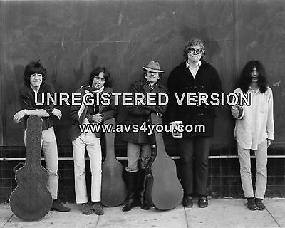 """The Flamin Groovies 10"""" x 8"""" Photograph no 2"""
